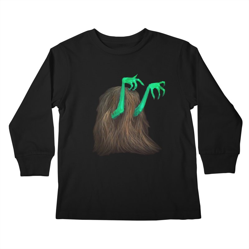 freaker  Kids Longsleeve T-Shirt by Jim Tozzi