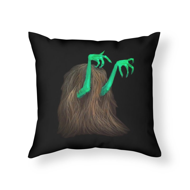 freaker  Home Throw Pillow by Jim Tozzi