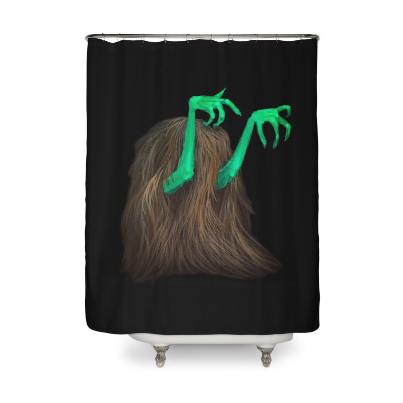 freaker  Home Shower Curtain by Jim Tozzi