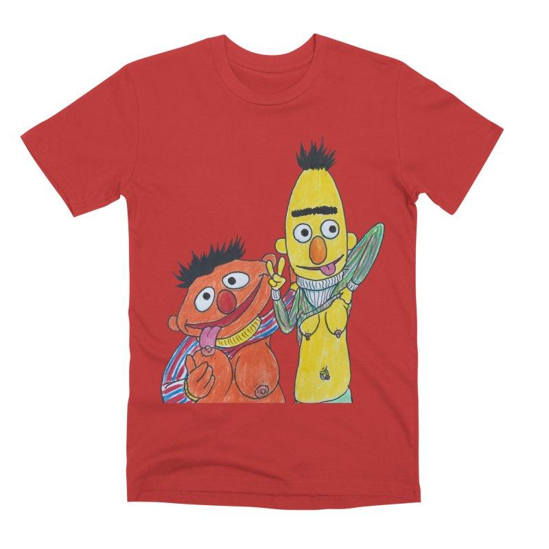 Nert and Bernie Men's Premium T-Shirt by Jim Tozzi