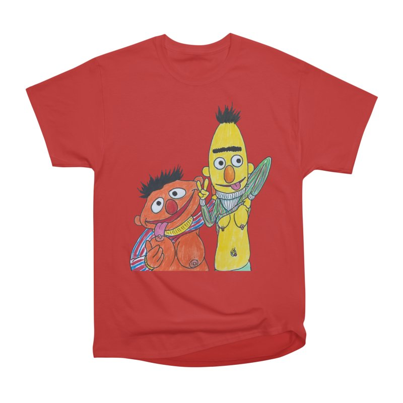 Nert and Bernie Men's Classic T-Shirt by Jim Tozzi