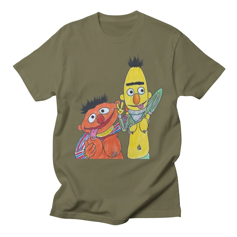 Nert and Bernie Women's Unisex T-Shirt by Jim Tozzi
