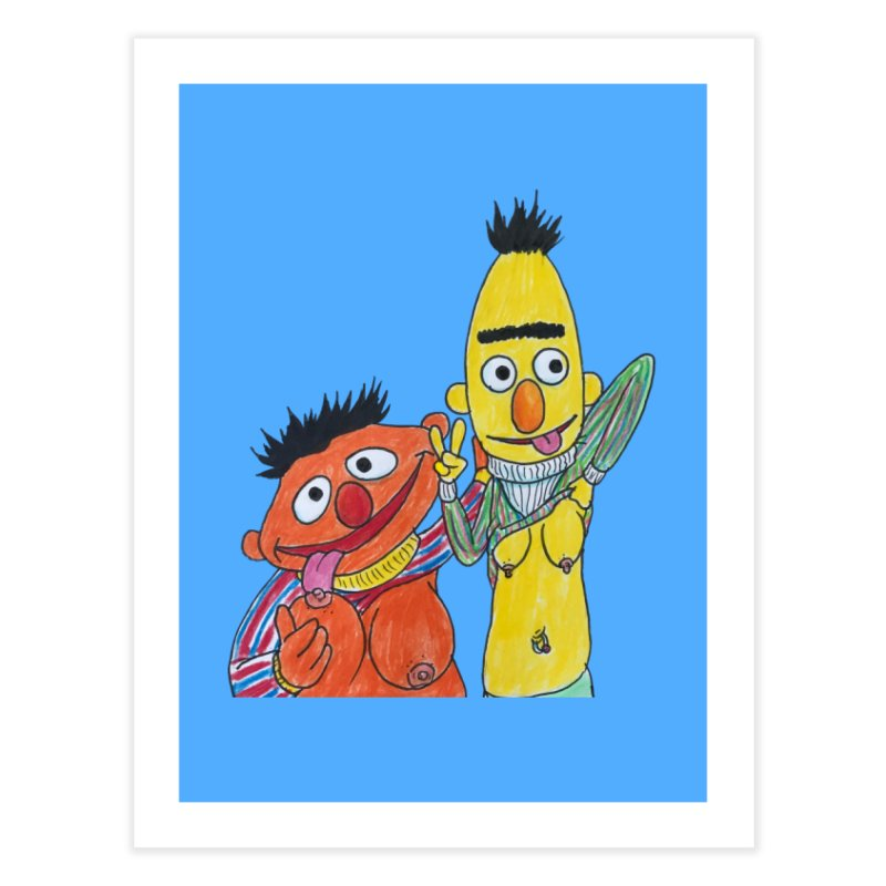 Nert and Bernie Home Fine Art Print by Jim Tozzi
