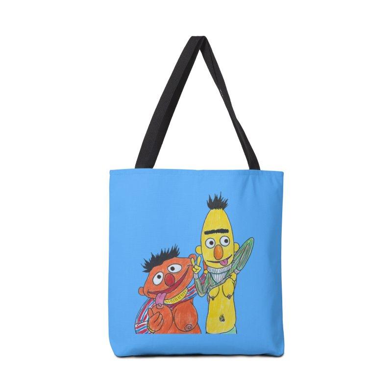 Nert and Bernie Accessories Bag by Jim Tozzi