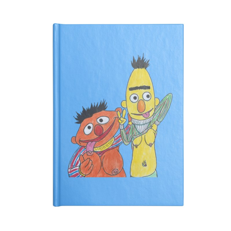 Nert and Bernie Accessories Notebook by Jim Tozzi