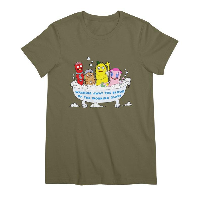 Wondershowzen  Women's Premium T-Shirt by Jim Tozzi