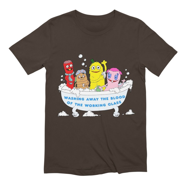 Wondershowzen  Men's Extra Soft T-Shirt by Jim Tozzi