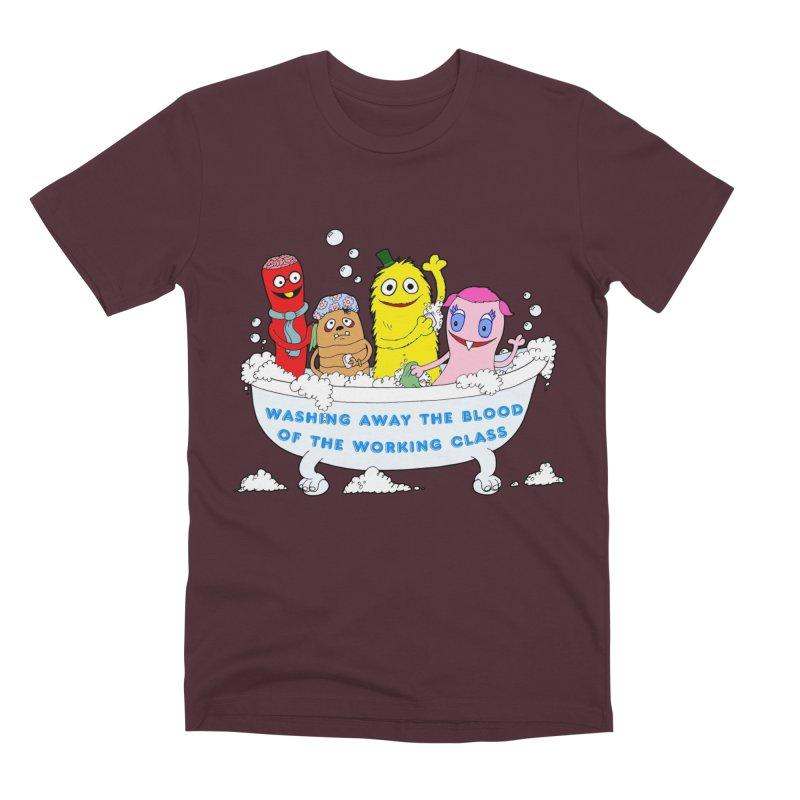 Wondershowzen  Men's Premium T-Shirt by Jim Tozzi