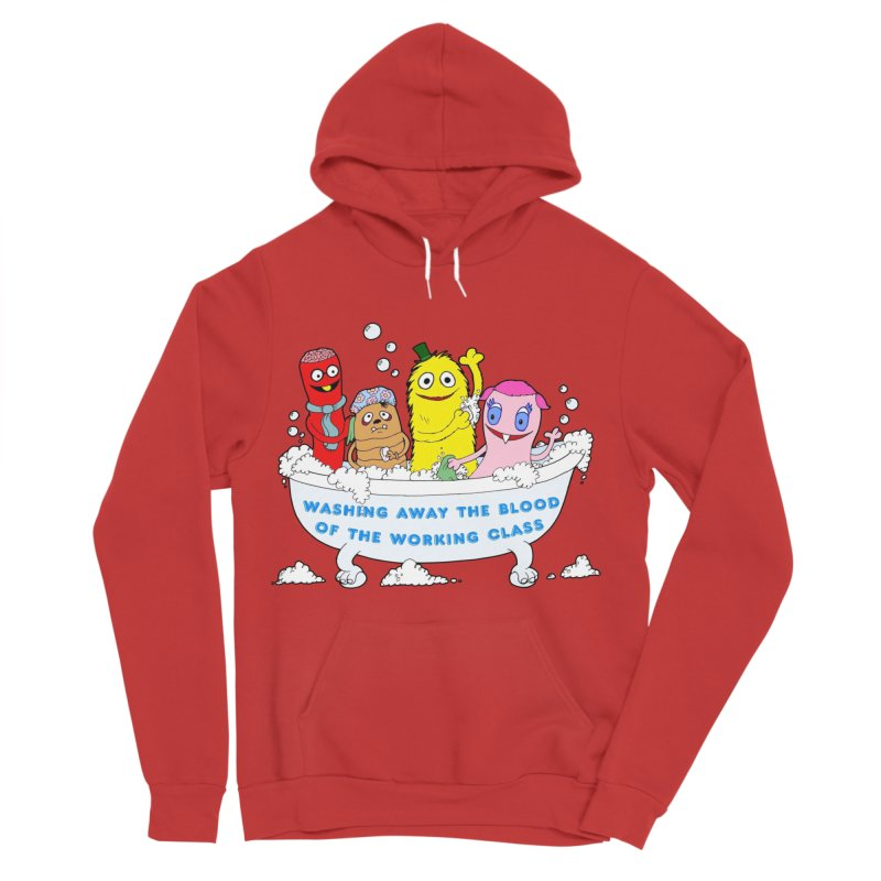 Wondershowzen  Men's Sponge Fleece Pullover Hoody by Jim Tozzi