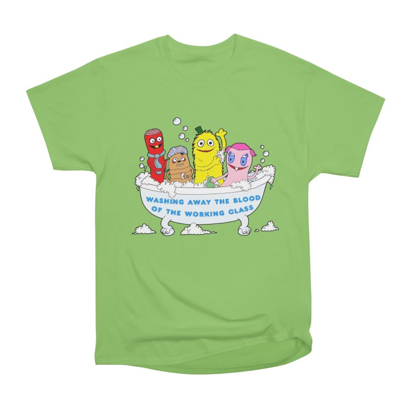 Wondershowzen  Women's Heavyweight Unisex T-Shirt by Jim Tozzi