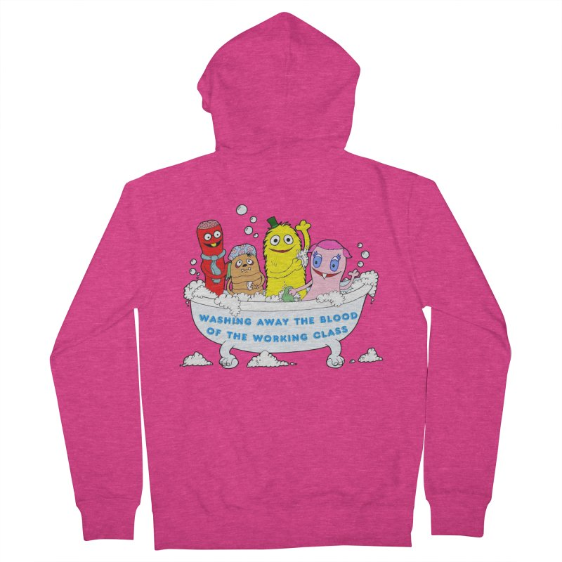 Wondershowzen  Women's French Terry Zip-Up Hoody by Jim Tozzi