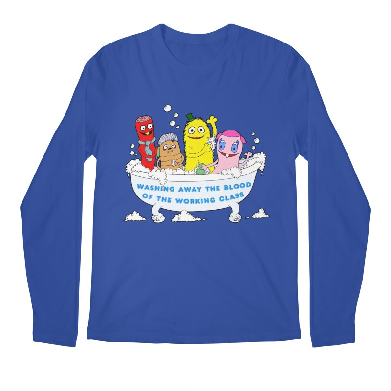 Wondershowzen  Men's Regular Longsleeve T-Shirt by Jim Tozzi