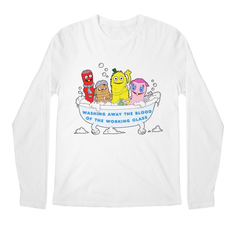 Wondershowzen  Men's Longsleeve T-Shirt by Jim Tozzi