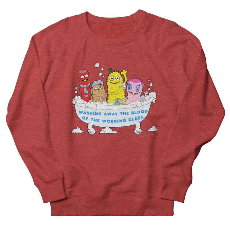 Wondershowzen  Women's French Terry Sweatshirt by Jim Tozzi