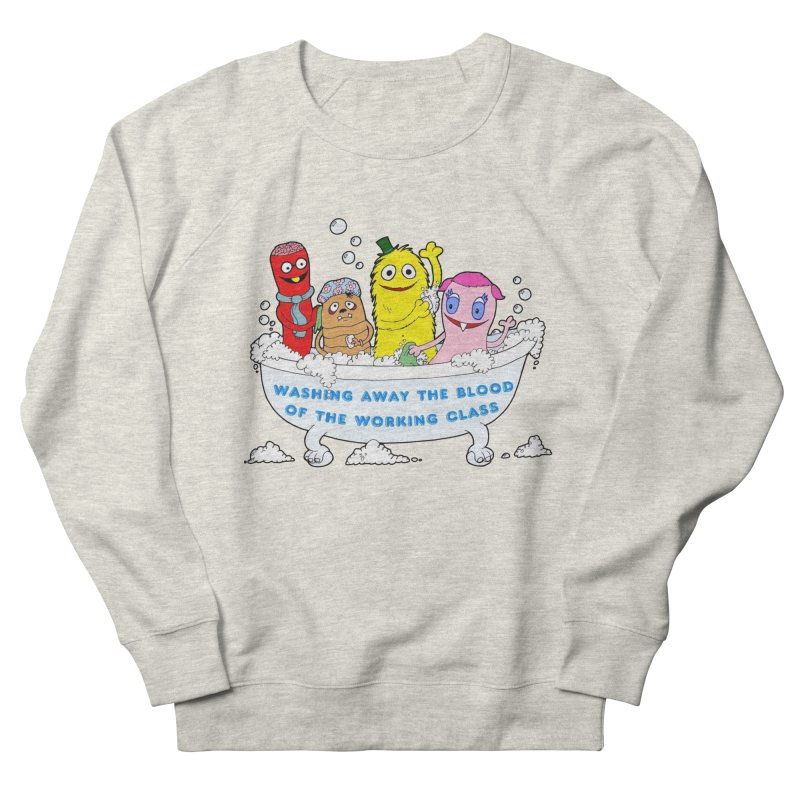 Wondershowzen  Women's French Terry Sweatshirt by Jim Tozzi