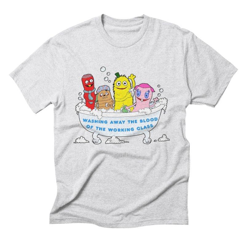 Wondershowzen  Men's Triblend T-Shirt by Jim Tozzi