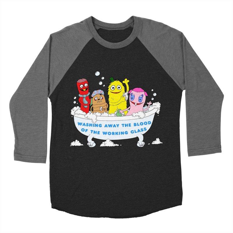 Wondershowzen  Women's Baseball Triblend Longsleeve T-Shirt by Jim Tozzi