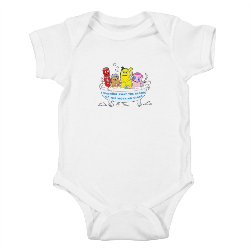 Wondershowzen  Kids Baby Bodysuit by Jim Tozzi