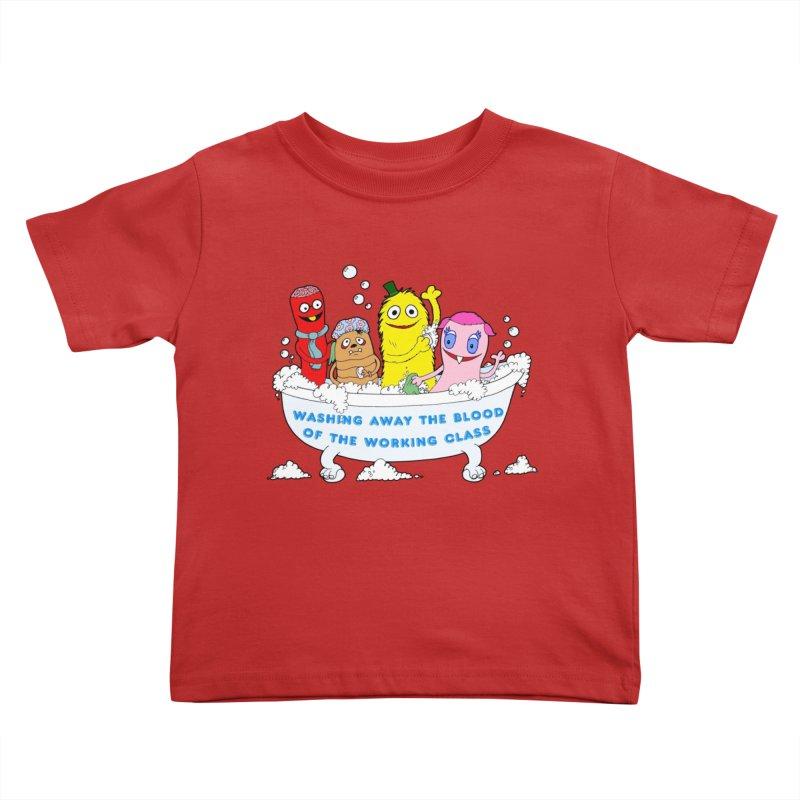 Wondershowzen  Kids Toddler T-Shirt by Jim Tozzi