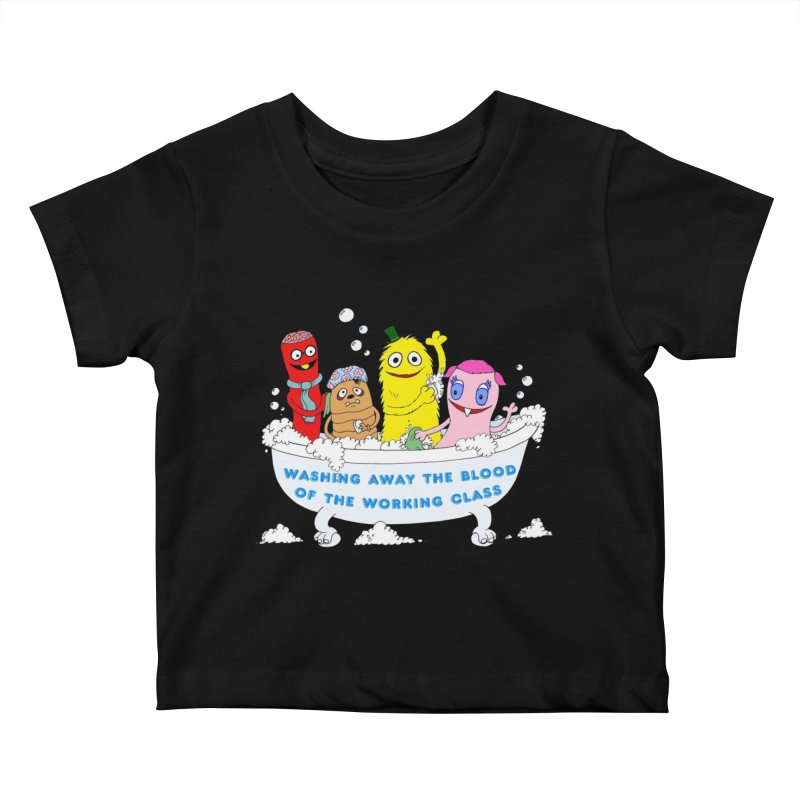 Wondershowzen  Kids Baby T-Shirt by Jim Tozzi