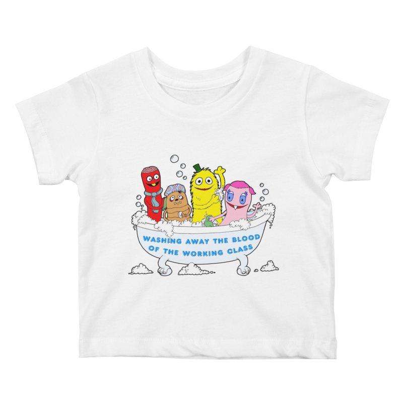 Wondershowzen  Kids Baby T-Shirt by Jim Tozzi