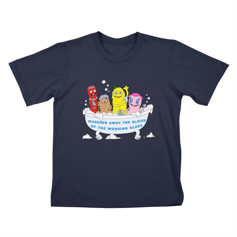 Wondershowzen  Kids T-Shirt by Jim Tozzi