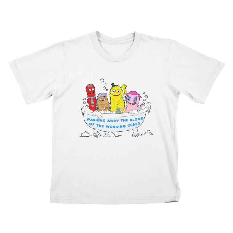Wondershowzen  Kids T-Shirt by Jim Tozzi