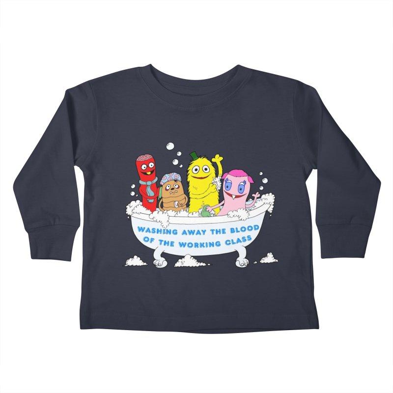 Wondershowzen  Kids Toddler Longsleeve T-Shirt by Jim Tozzi
