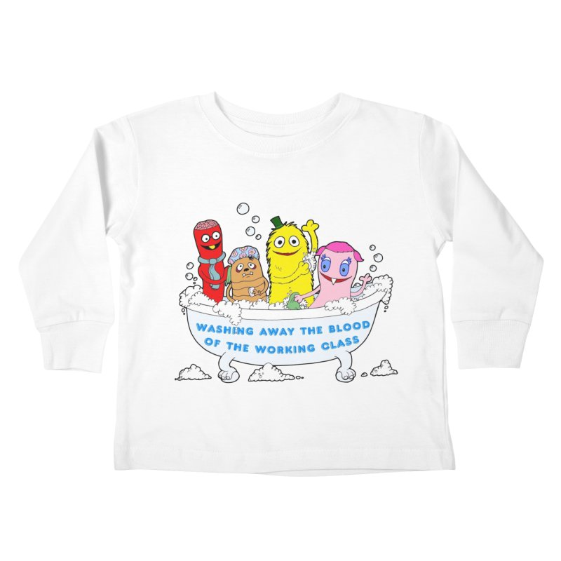 Wondershowzen  Kids Toddler Longsleeve T-Shirt by Jim Tozzi