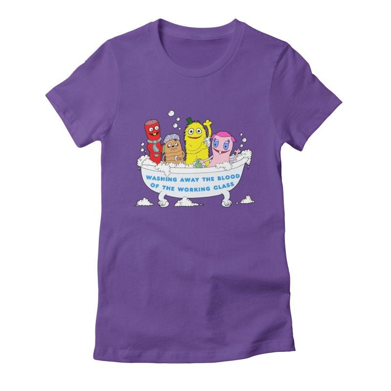 Wondershowzen  Women's Fitted T-Shirt by Jim Tozzi