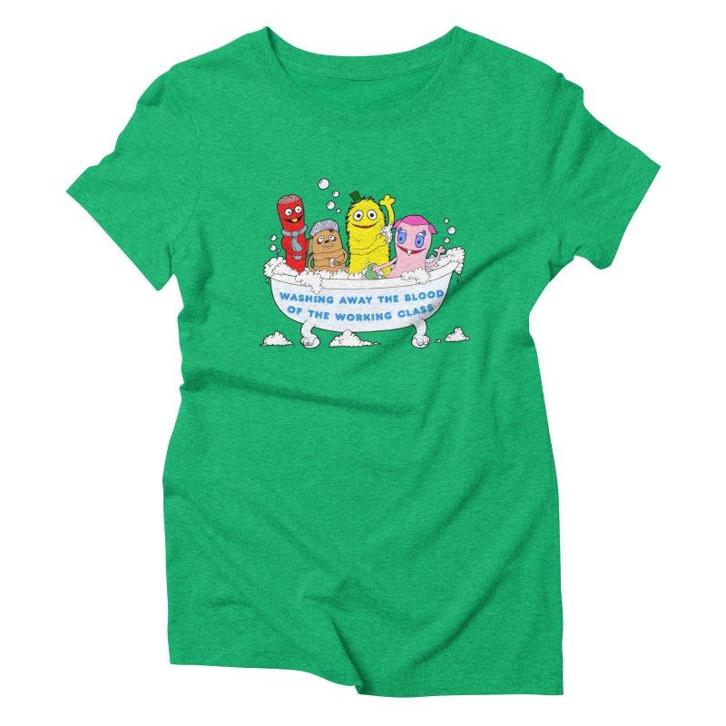 Wondershowzen  Women's Triblend T-shirt by Jim Tozzi