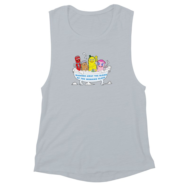 Wondershowzen  Women's Muscle Tank by Jim Tozzi