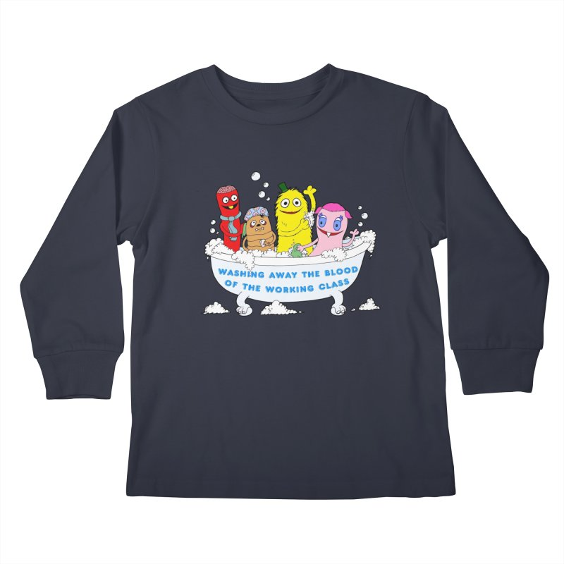 Wondershowzen  Kids Longsleeve T-Shirt by Jim Tozzi