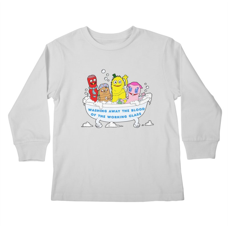 Wondershowzen  Kids Longsleeve T-Shirt by Jim Tozzi