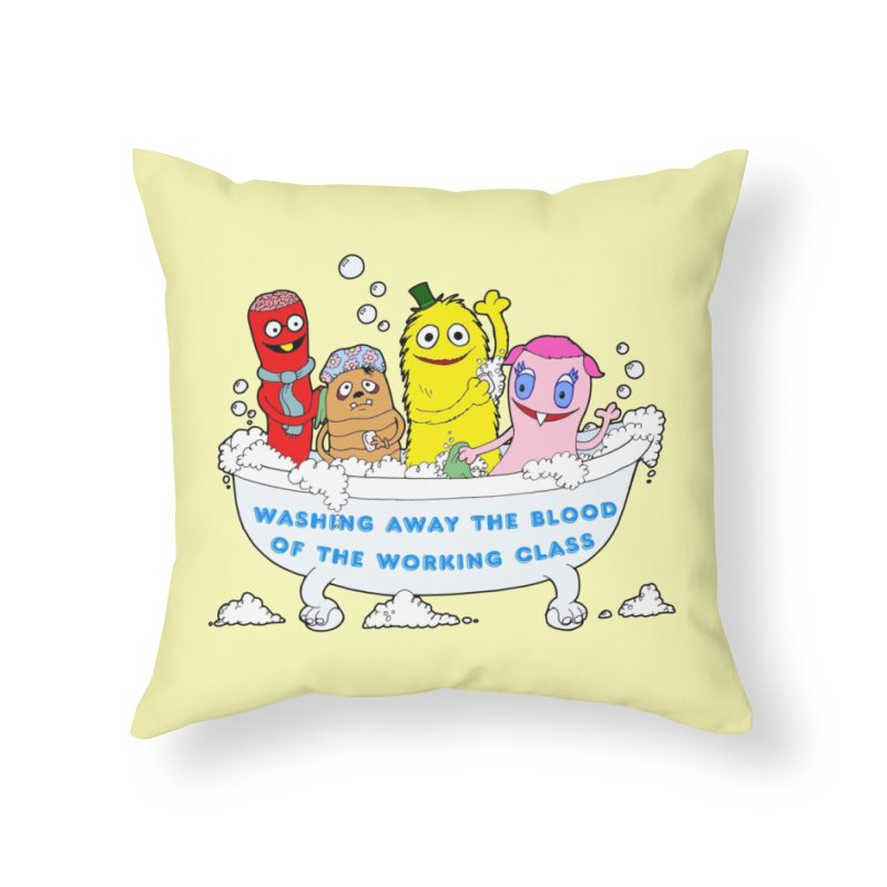 Wondershowzen  Home Throw Pillow by Jim Tozzi