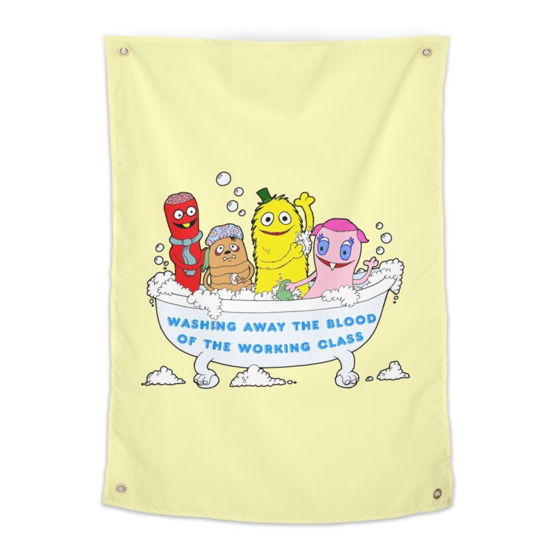 Wondershowzen  Home Tapestry by Jim Tozzi