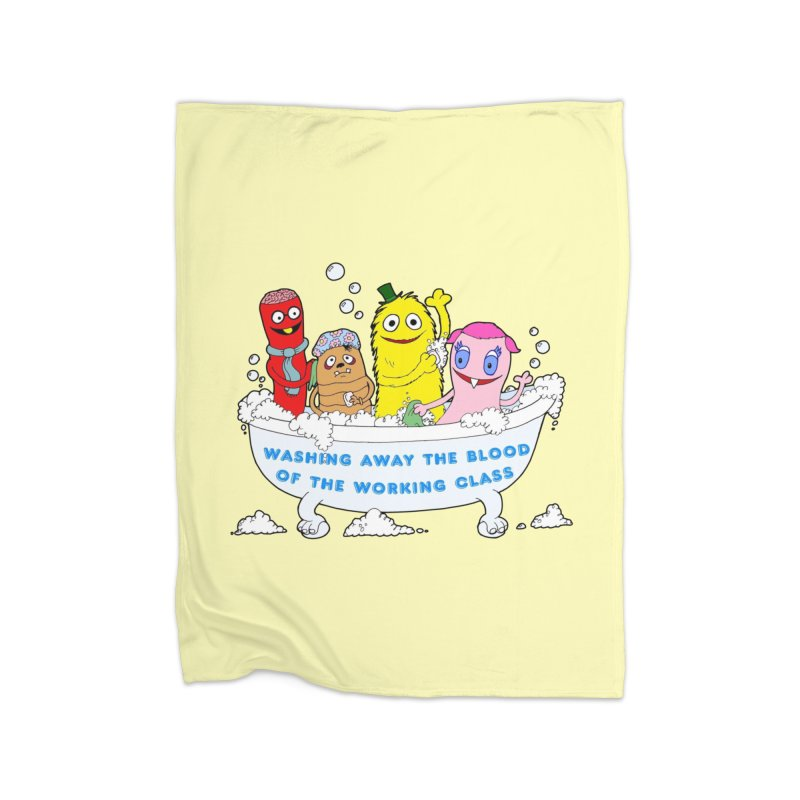 Wondershowzen  Home Blanket by Jim Tozzi