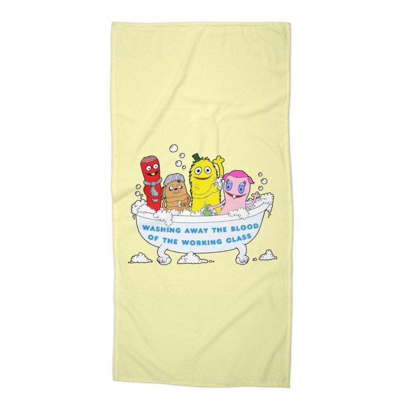 Wondershowzen  Accessories Beach Towel by Jim Tozzi