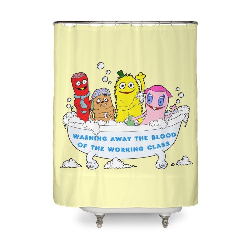 Wondershowzen  Home Shower Curtain by Jim Tozzi