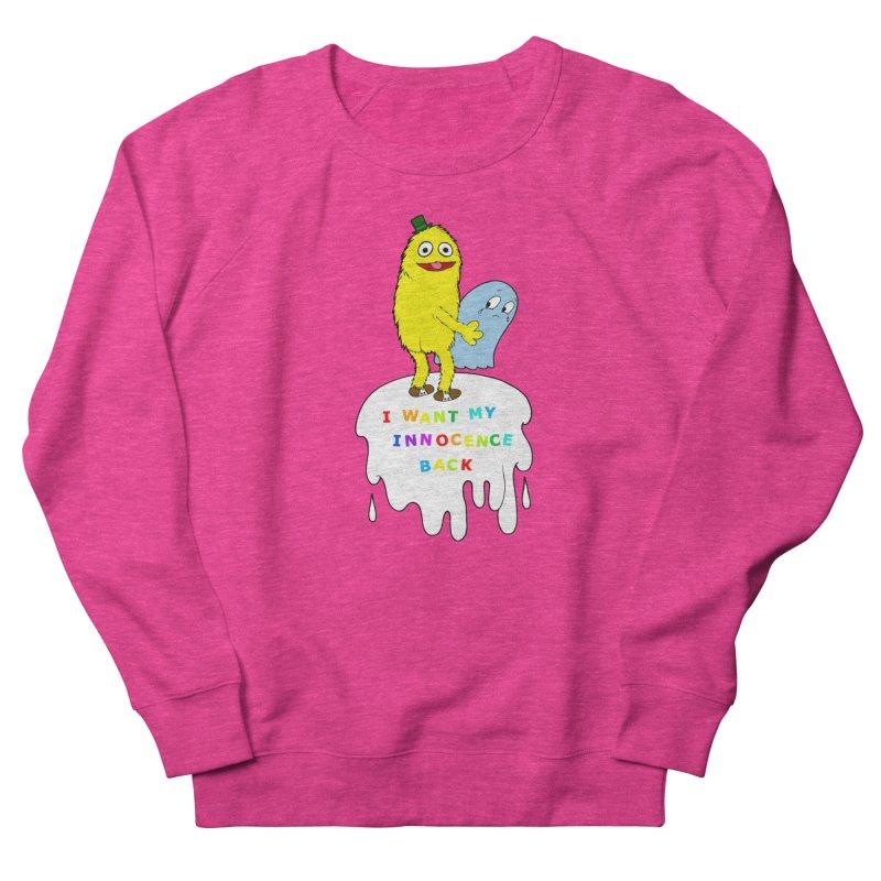 Innocence Women's French Terry Sweatshirt by Jim Tozzi