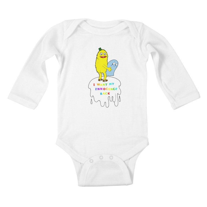 Innocence Kids Baby Longsleeve Bodysuit by Jim Tozzi