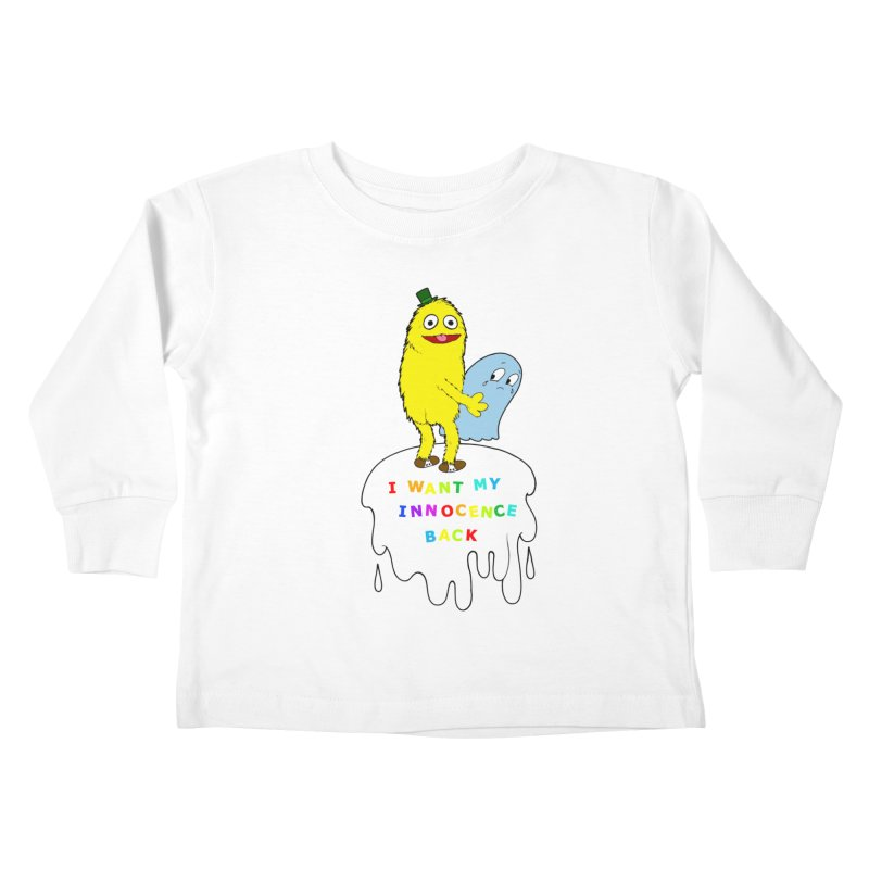Innocence Kids Toddler Longsleeve T-Shirt by Jim Tozzi