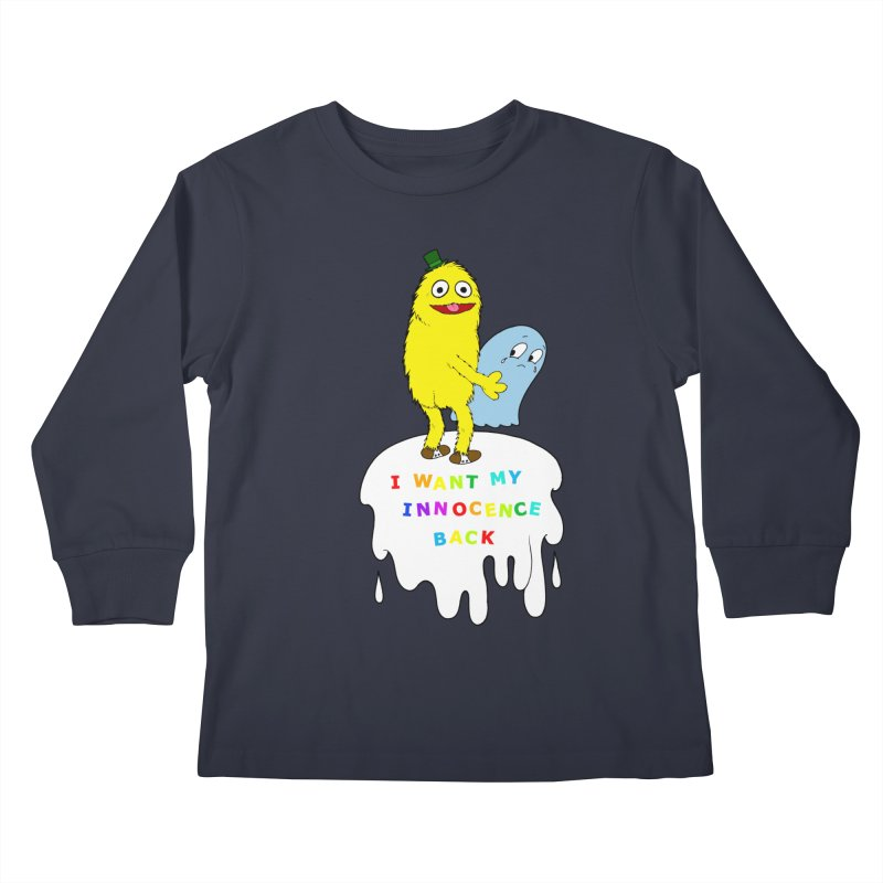 Innocence Kids Longsleeve T-Shirt by Jim Tozzi