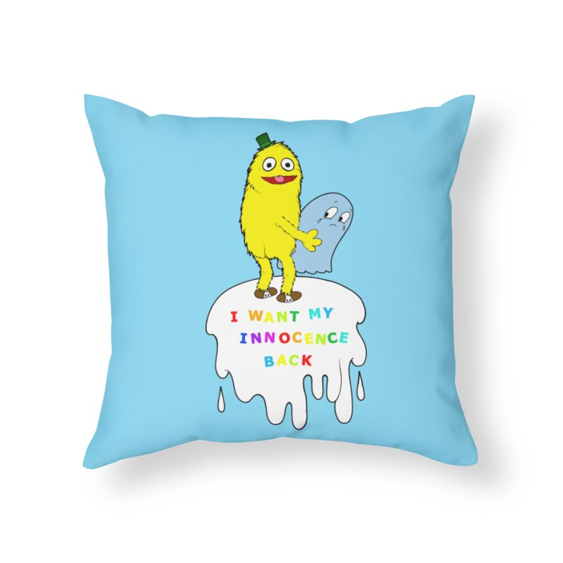Innocence Home Throw Pillow by Jim Tozzi