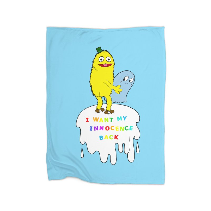 Innocence Home Blanket by Jim Tozzi
