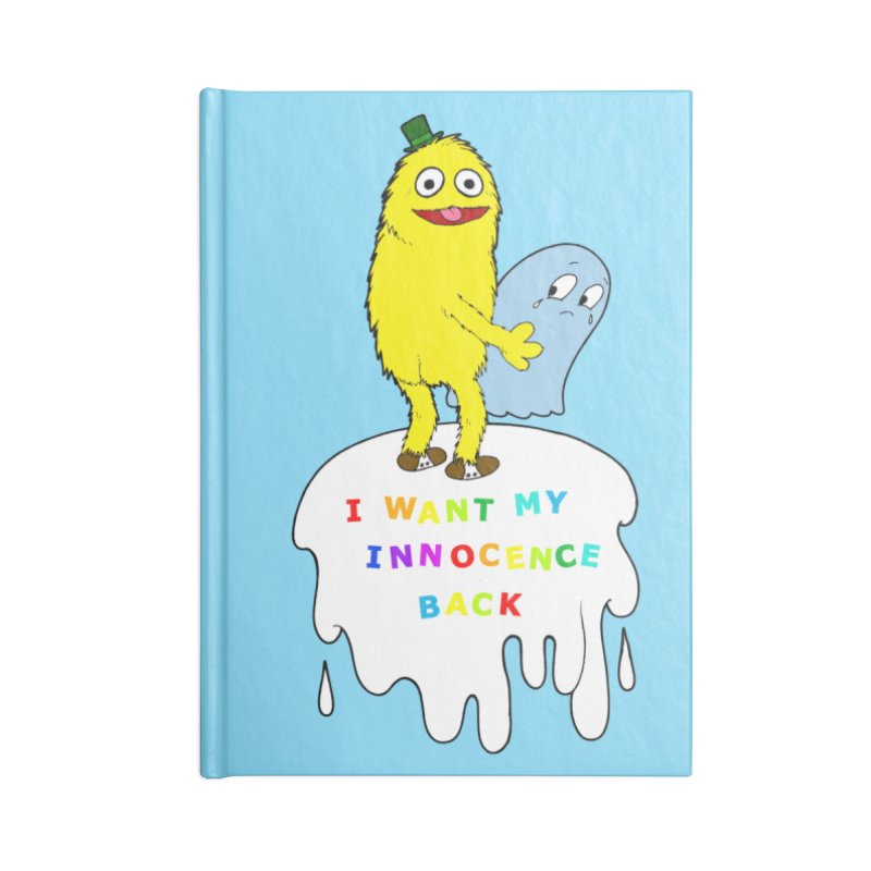 Innocence Accessories Notebook by Jim Tozzi