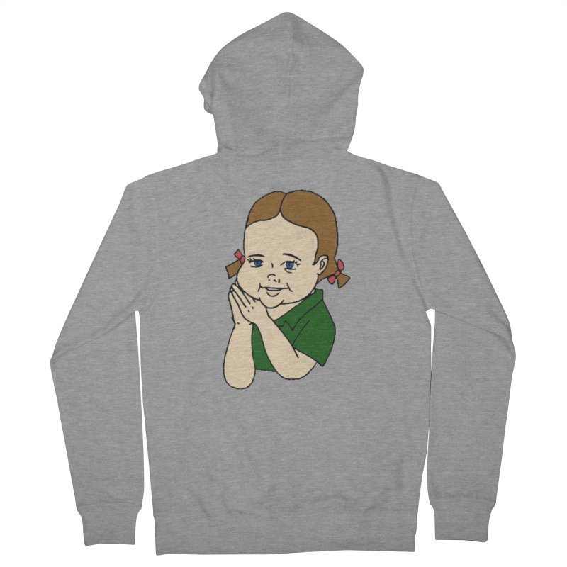 Kids Show Women's French Terry Zip-Up Hoody by Jim Tozzi