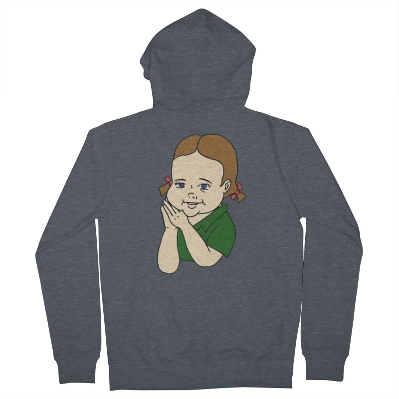 Kids Show Men's French Terry Zip-Up Hoody by Jim Tozzi