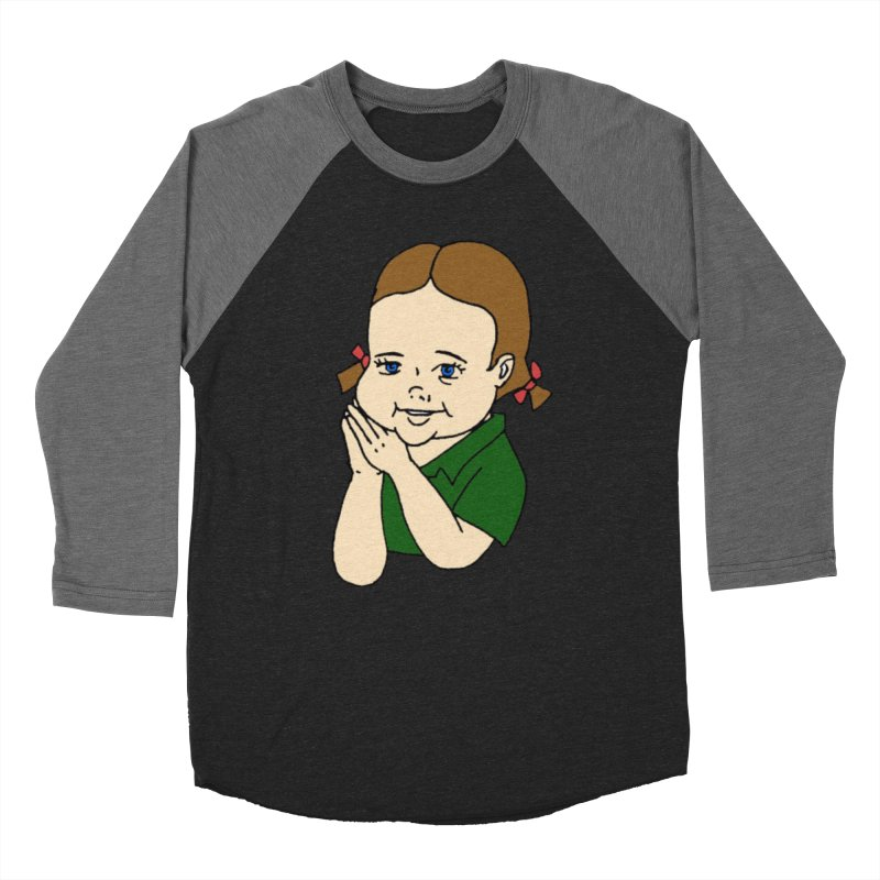 Kids Show Women's Baseball Triblend Longsleeve T-Shirt by Jim Tozzi