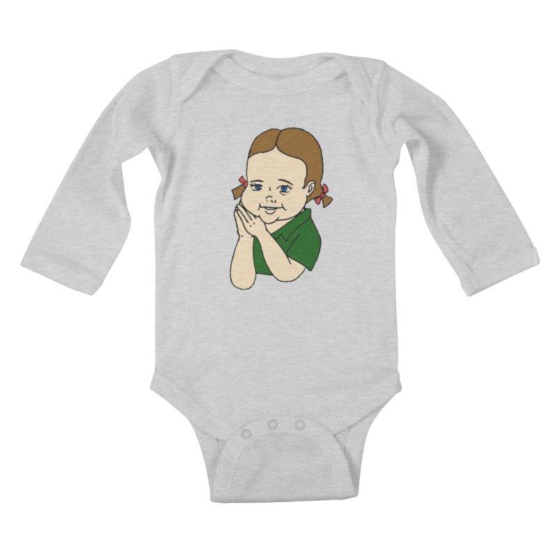 Kids Show Kids Baby Longsleeve Bodysuit by Jim Tozzi
